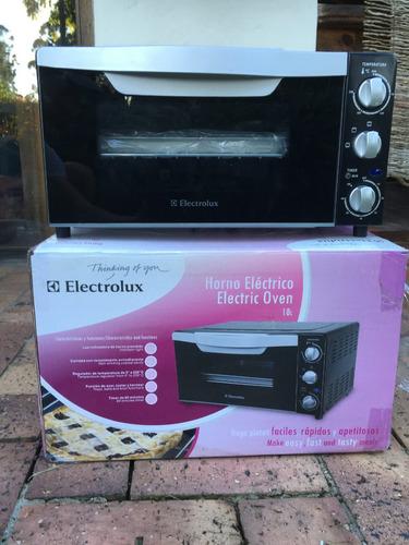 horno tostador 18l electrolux