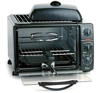 horno tostador con asador y parrilla-plancha