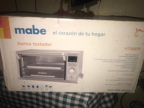 horno tostador electrico mabe
