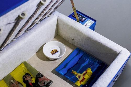 horno vitrofusion pinturas vidrio y calcos hv-2+ libro