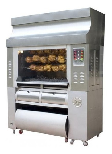 hornos asadores de pollos para 8, 12, 25, 30 pollos