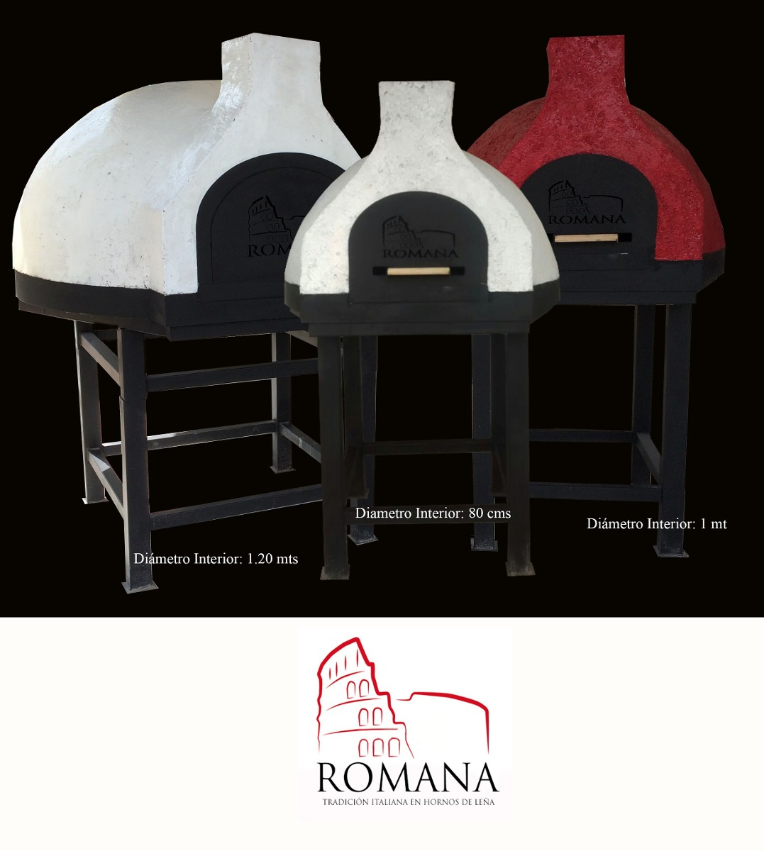 Arco Gas >> Hornos De Leña Estilo Italiano Para Pizza Y Pan - $ 31,500.00 en Mercado Libre