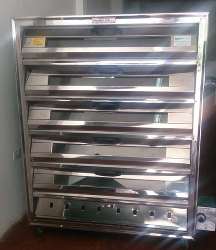 hornos industriales panaderia pizza 2 3 4 5 10 bandejas