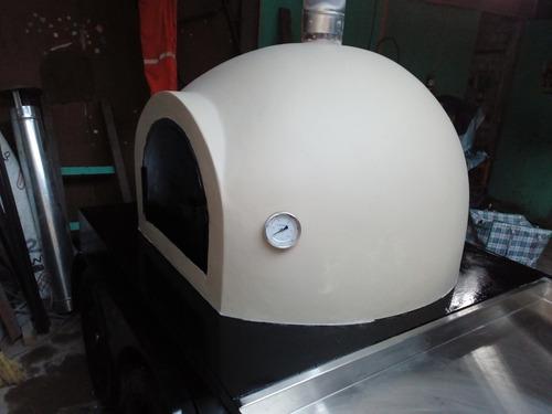 hornos portátiles de barro artesanal para pizzería panaderí