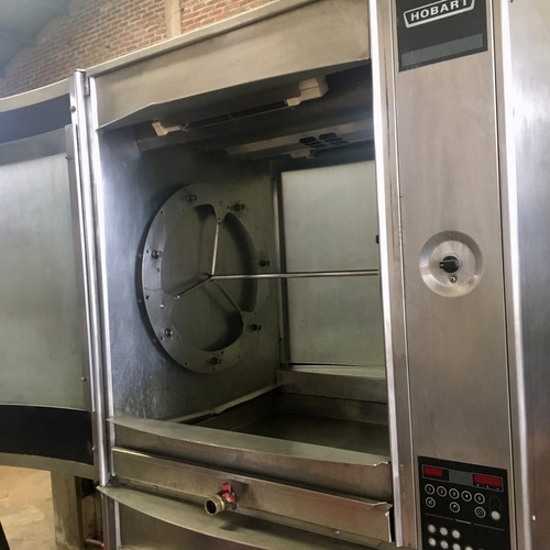 hornos rosticeros para 35 pollos hobart msi (1modulo)