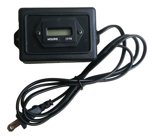 horómetro digital contador de horas vdc y ac