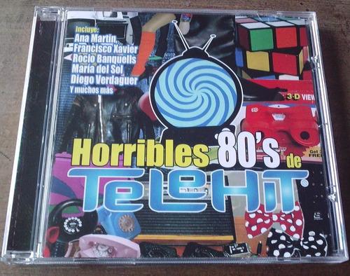 horribles 80 s de telehit cd 2007. ana martin,tatiana  bvf