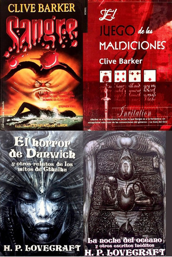 horror dunwich - sangre - hellraiser lovecraft clive barker