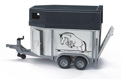 horse trailer incluye 1 caballo bruder juguete
