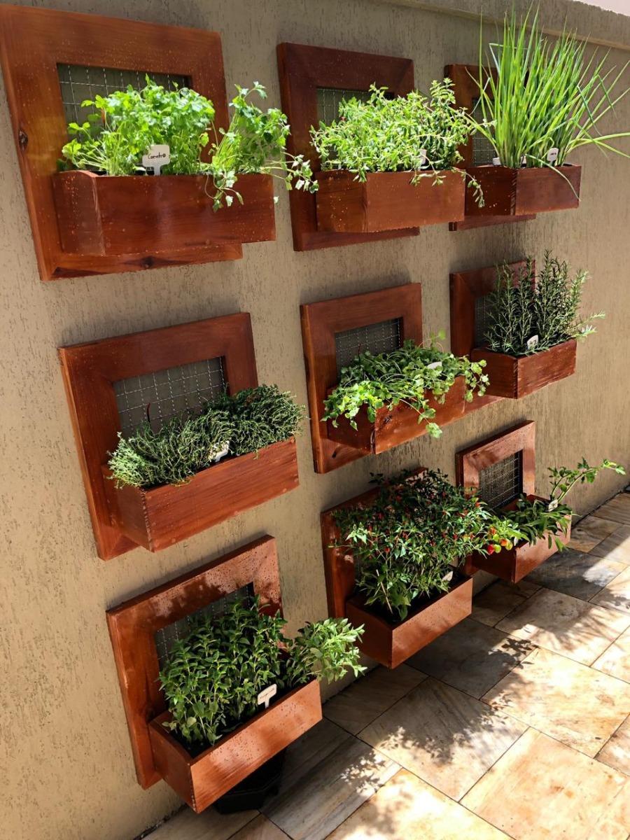 0db942c0b horta ou jardim vertical de painel de 1 vaso para sua parede. Carregando  zoom.