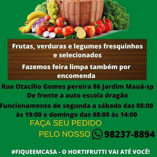 hortifruti delivery