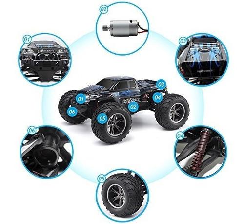 hosim all terrain rc car 9112, 38 km / h 1/12 scale radio c