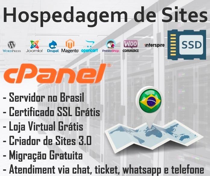 Hospedagem De Lojas Virtuais No Brasil 10gb Ssd + Ssl Grátis - R  10 ... eee64e4702a