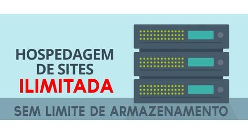 hospedagem de sites barata ilimitada criador de sites cpanel
