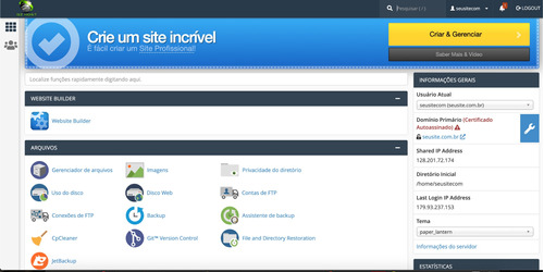 hospedagem de sites com e-mail comercial rápido e seguro!