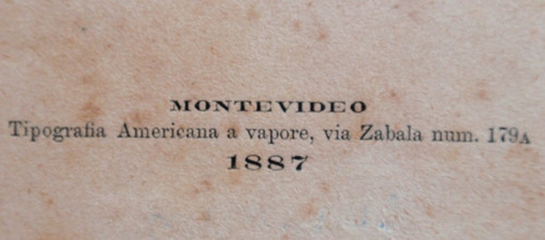 hospital italiano montevideo noticia historica año 1887 raro