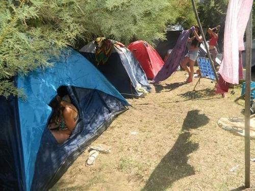 hostel y camping frente al mar  economico