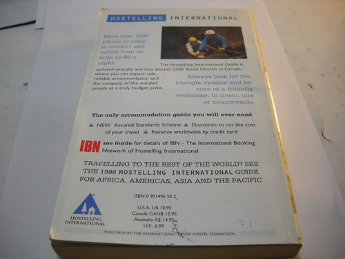 hosteles europa instructivo 1998