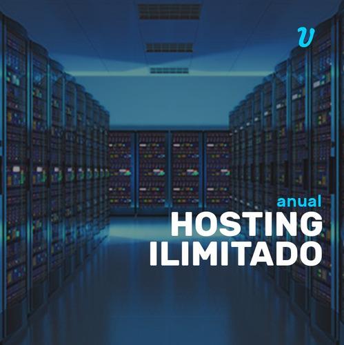 hosting anual ilimitado