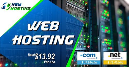 hosting con un dominio .com gratis de por vida
