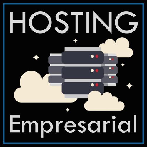 hosting web + dominio .ve plan empresarial ilimitado x 1 mes