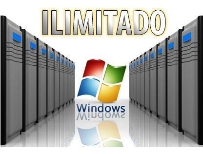 hosting window ilimitado anual + dominio .com