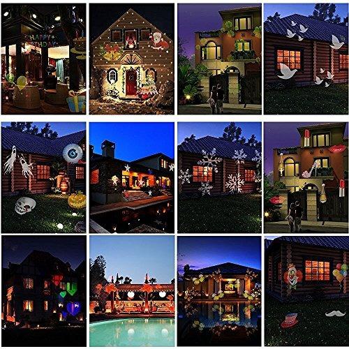 hosyo motion paisaje luces proyector led spotlights120v imp