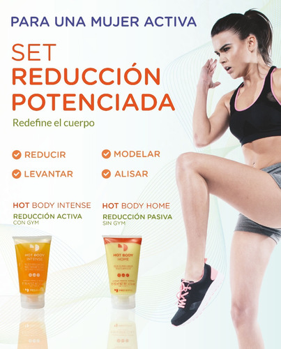 hot body home post gym 150gr prodermic