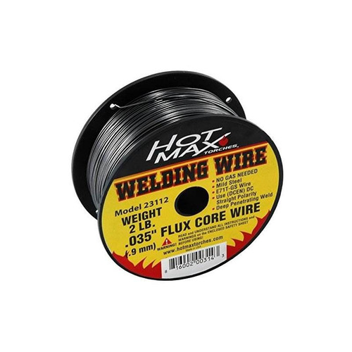 hot max 23112 0.035-pulgadas e71t-gs flux core mig wire - 2