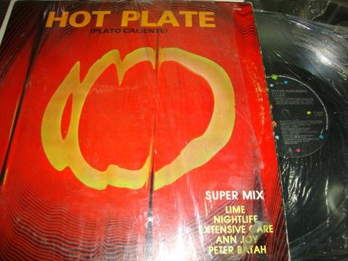 hot plate  maxi de 12  de 33rpm. plato caliente