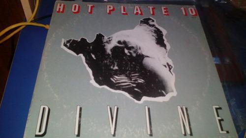 hot plate no. 10 1982 lp divine hecho en mexico trebol