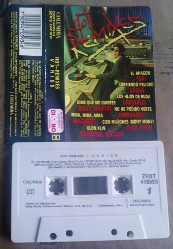 hot remixes varios cassette.yuri,sasha,moenia