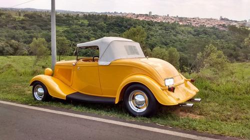 hot rod 1934 v8 chassi de inox carangas garage