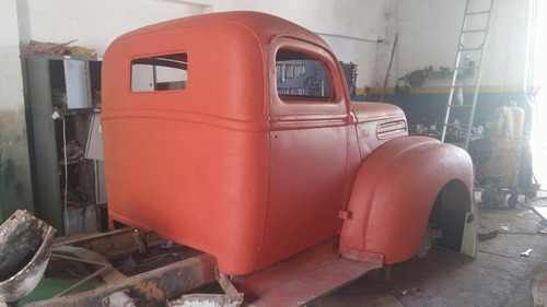 hot rod ford pickup 1946, v6 ( en proceso) elija color y mas