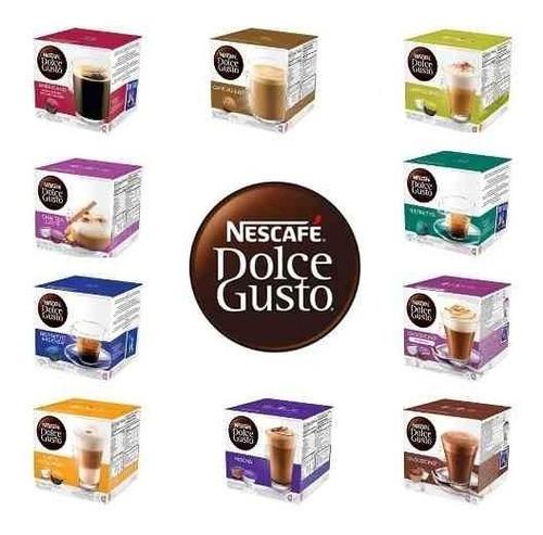hot sale! caja 16 capsulas dolce gusto! lleva 6 envio gratis