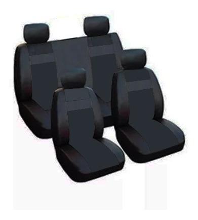 hot sale juego completo fundas cubre asiento cuero ecologico