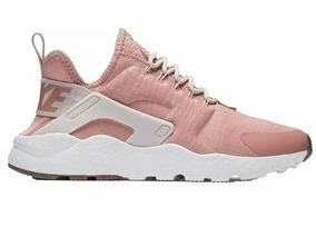 zapatillas nike mujer huarache rosas