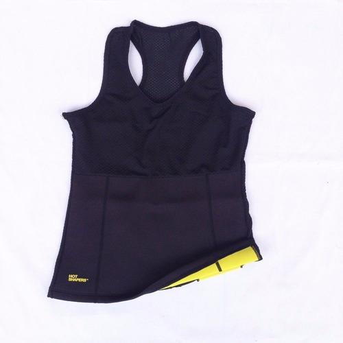 hot shaper blusa cinturilla neopreno reductora gym