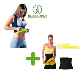 Hot Shaper + Hot Belt Liquido! Calza + Faja Reductora