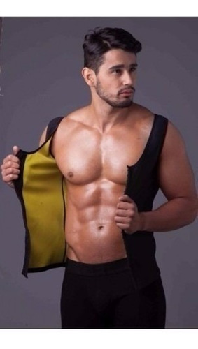 hot shapers camisilla (chaleco) para hombre. con broches