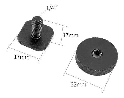 hot shoe mount, adaptador para gravador zoom h1 e h4