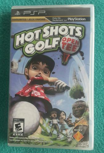 hot shots golf - open tee / playstation portatil psp - nuevo