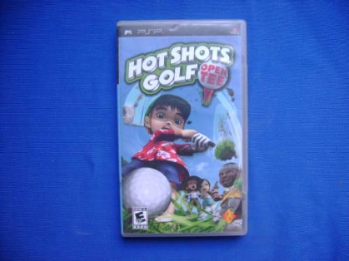 hot shots golf open tee psp completo rtg +++++
