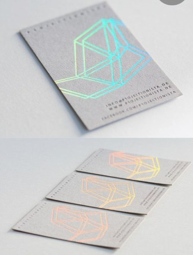 hot stamping foil tradicional - holografico rainbow