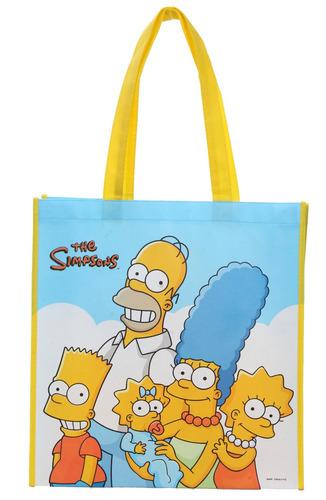 hot topic bolsa los simpson family shopping tote