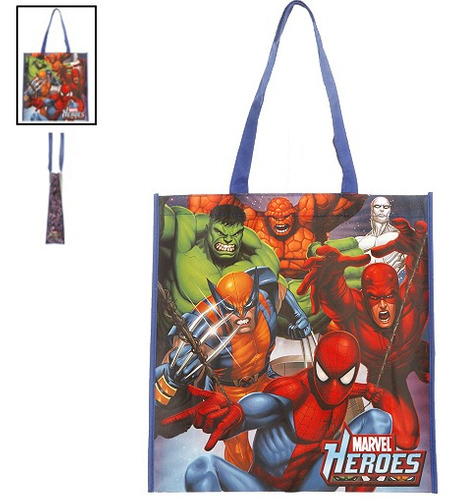hot topic bolsa marvel heroes del universo tote
