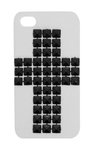 hot topic funda cruz de estoperoles iphone 5 5s carcasa