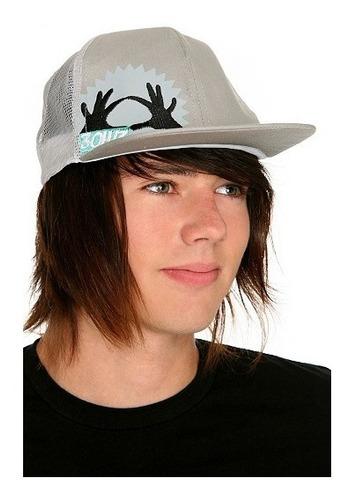 hot topic gorra 3oh!3 hands trucker hat