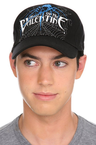 hot topic gorra bullet for my valentine spider ball cap