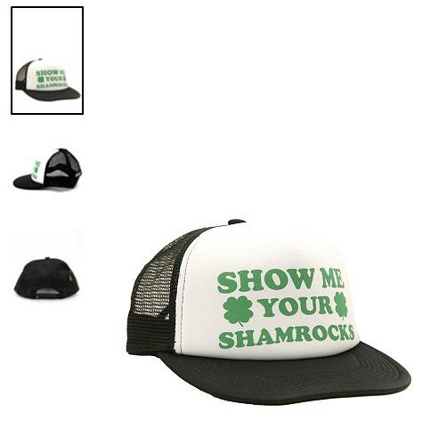 hot topic gorra rude shamrocks snapback trucker cap